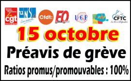 mobilisation du 15 octobre Hdv de Paris
